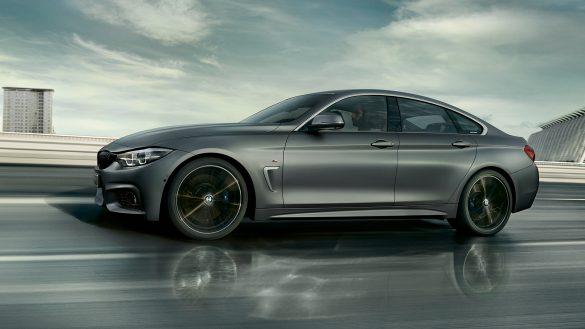 BMW 4er Gran Coupé von links