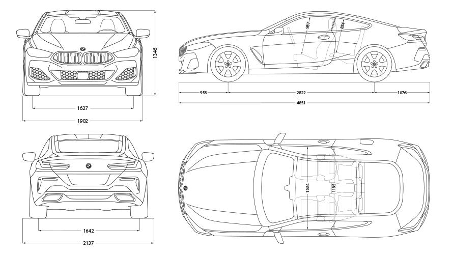 Technische Daten BMW 8er Coupé