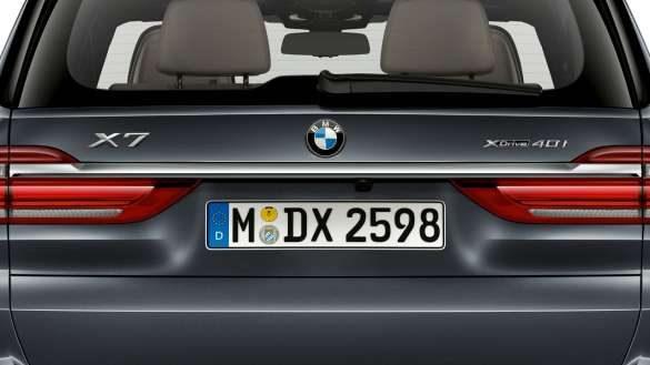 BMW X7 Chromeleiste
