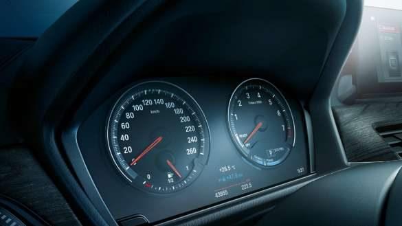 BMW X1 Instrumentenkombination