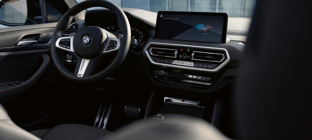BMW X4 M40i G02 LCI 2021 Facelift Innenraum Cockpit