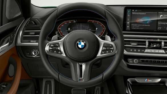 BMW X3 M40i M40d G01 LCI Facelift 2021 M Lederlenkrad